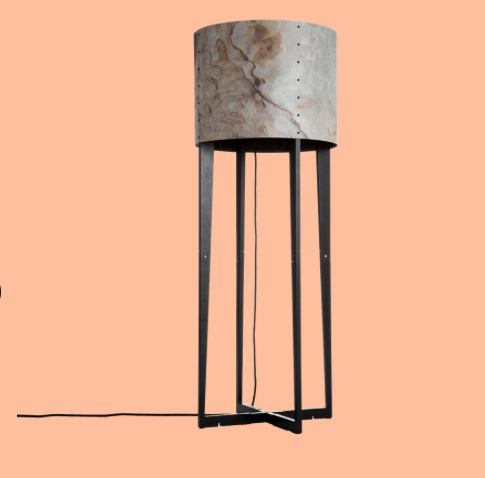 "Rock collection van Wever&Ducré, met ""stone veneer""."